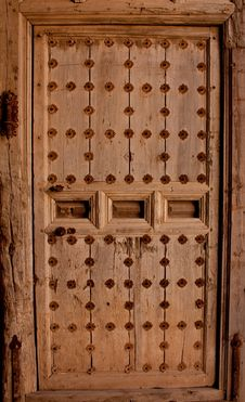Free Very Old Wood Door Stock Images - 8425694