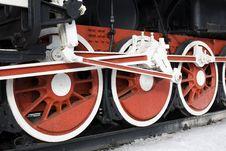 Free Railway Wheels Stock Photography - 8425702