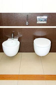 Free Brown Toilet Stock Photo - 8425780