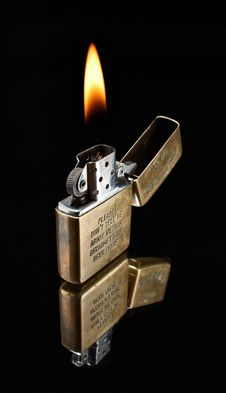 Free Old Lighter From Vietnam Stock Images - 8426034