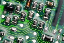Free Computer Motherboard Stock Image - 8426151