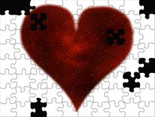 Free Puzzled Heart Stock Images - 8426414