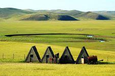 Free Yurt Royalty Free Stock Photography - 8426877