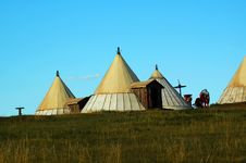 Free Yurt Royalty Free Stock Photo - 8427005