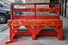 Free Red Bench Stock Images - 8427254