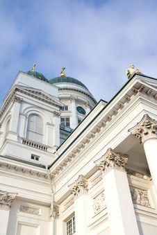 Free Helsinki Cathedral Royalty Free Stock Photography - 8427447