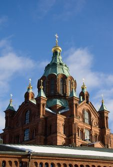 Free Uspenski Cathedral, Helsinki Royalty Free Stock Photography - 8427527