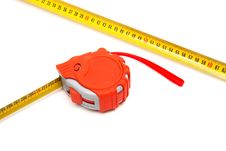 Free Red New Tape-measure Stock Image - 8427921
