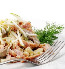 Free Salad Royalty Free Stock Images - 8428209