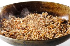 Free Boiled Buckwheat Royalty Free Stock Photography - 8428357