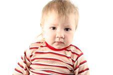 Free Little Blond Boy Royalty Free Stock Photos - 8428678