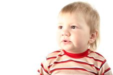 Free Little Blond Boy Royalty Free Stock Photos - 8428768
