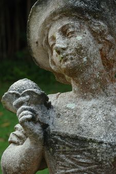 Weathered Statue Stock Images