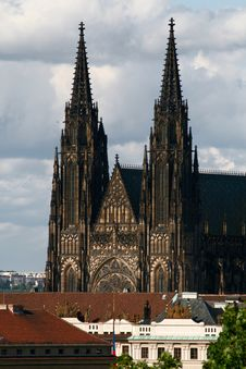 Free St. Vitus Cathedral Royalty Free Stock Photo - 8429635