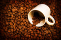 Free Grunge Background With Coffee Elements Stock Photo - 8430870