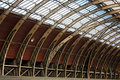 Free Train Station Roof Interior Royalty Free Stock Images - 8432899