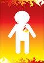 Free Fireman Icon Stock Photos - 8439633