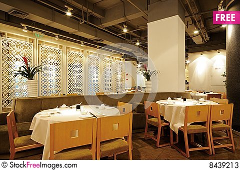 Free Restaurant Stock Photos - 8439213