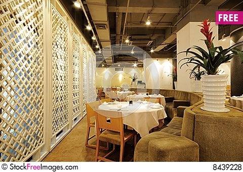 Free Restaurant Royalty Free Stock Photos - 8439228