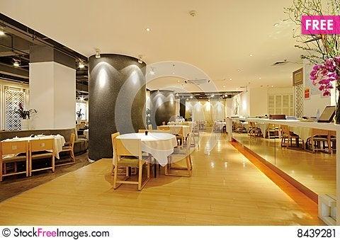 Free Restaurant Stock Image - 8439281