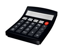 Free Calculator Royalty Free Stock Photography - 8430197