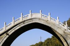 Free Bridge With Arch Architecture Royalty Free Stock Photos - 8430318