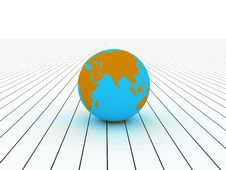 Free Globe Royalty Free Stock Photo - 8430345