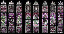 Free Windows With Religious Images Stock Photos - 8430433