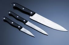 Free Kitchen Knifes Royalty Free Stock Photography - 8430727