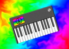 Free The Hippie Keyboard Stock Photo - 8430900