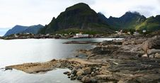 Free Fjord Shoreline In Norway Royalty Free Stock Photo - 8431175