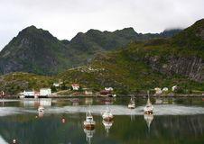 Free Fishing Port, Norway Royalty Free Stock Image - 8431216