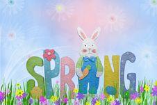 Free Hoppy Spring Stock Image - 8432001