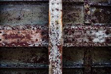 Decayed Iron Texture 3 Royalty Free Stock Photos