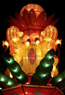 Free Chinese Festival Lantern Royalty Free Stock Images - 8432419