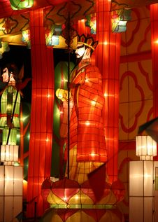 Chinese Festival Lantern Royalty Free Stock Images