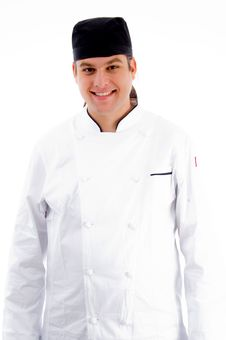 Free Portrait Of Young Chef Stock Photos - 8433313