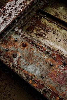 Decayed Iron Texture 5 Royalty Free Stock Photography