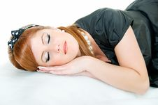 Free Asleep Royalty Free Stock Photography - 8433737