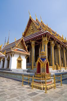 Free Wat Phra Kaew Royalty Free Stock Photography - 8433917
