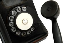 Free Old Telephone Stock Image - 8434181