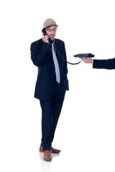 Free Businessman Stock Image - 8434261