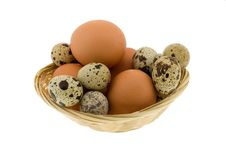 Free Crude Eggs Royalty Free Stock Photography - 8434307