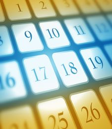 Free Calendar Royalty Free Stock Image - 8434846