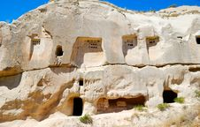 Free Dovecotes In Cappadocia Royalty Free Stock Photo - 8435195