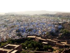 Free City Aerial View - Jodpur, Rajasthan Royalty Free Stock Photography - 8435747