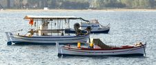 Free Three Fishing Boats Royalty Free Stock Photos - 8436138