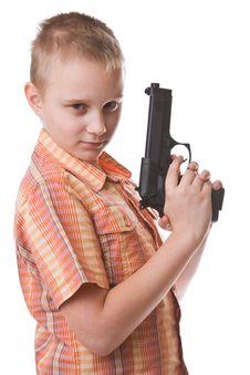Free Gun Stock Image - 8436281