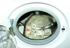 Free Money White-washing Royalty Free Stock Images - 8437419