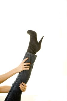 Free Sexy Boot Stock Image - 8438121